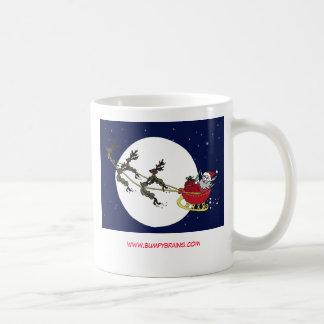 Neuron Santa & his Neuron Reindeer Coffee Mug