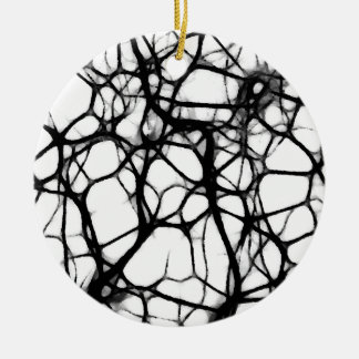 Neuronal Web 1 Ceramic Ornament