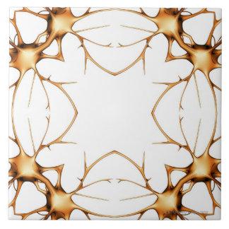 Neurons 2 ceramic tile