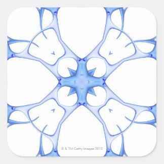 Neurons 3 square sticker