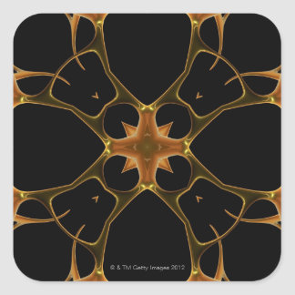 Neurons 4 square sticker