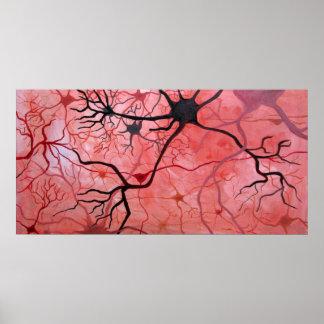 Neurons canvass print