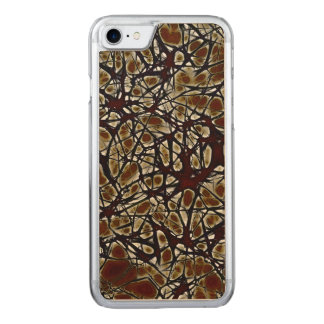 Neurons Carved iPhone 8/7 Case
