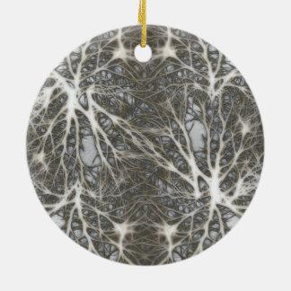 Neurons Ceramic Ornament