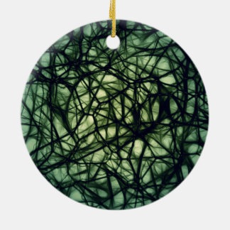 Neurons Ceramic Ornament