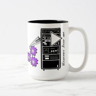 Neurons Fear Me Two-Tone Coffee Mug