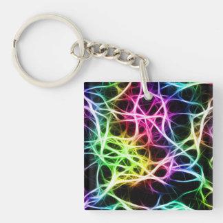 Neurons Keychain