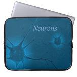 Neurons laptop sleeve