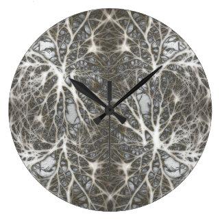 Neurons Large Clock