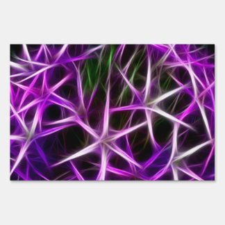Neurons Lawn Sign