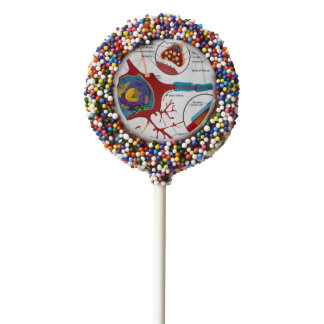 Neurons Nerve Healthy Chocolate Dipped Oreo Pop