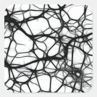 Neurons Square Sticker