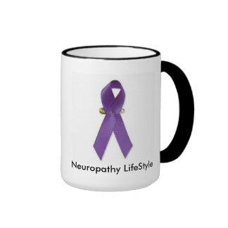 Neuropathy LifeStyle Ringer Coffee Mug