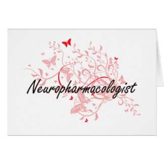 Neuropharmacologist Artistic Job Design with Butte Card