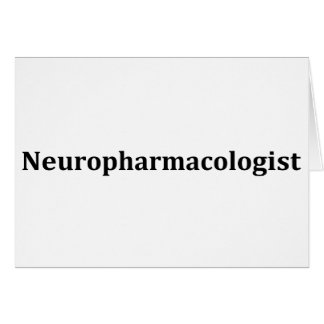 neuropharmacologist card