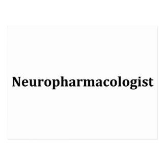 neuropharmacologist postcard