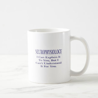 Neurophysiology  .. Explain Not Understand Classic White Coffee Mug