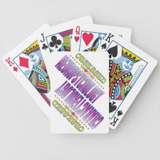 Neuropsicología 2 obsesionada baraja de cartas