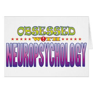 Neuropsicología 2 obsesionada tarjeta de felicitación