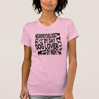 Neuropsicólogo del amante del perro camiseta