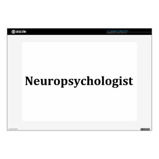 "neuropsychologist decal for 15"" laptop"