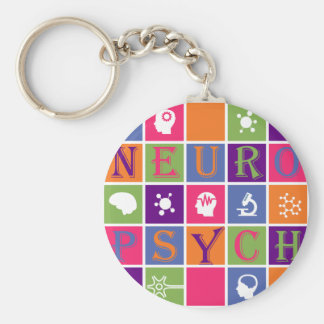 Neuropsychology - Gifts for Neuropsychologists Keychain