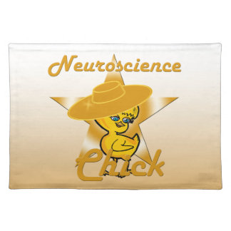 Neuroscience Chick #10 Cloth Placemat