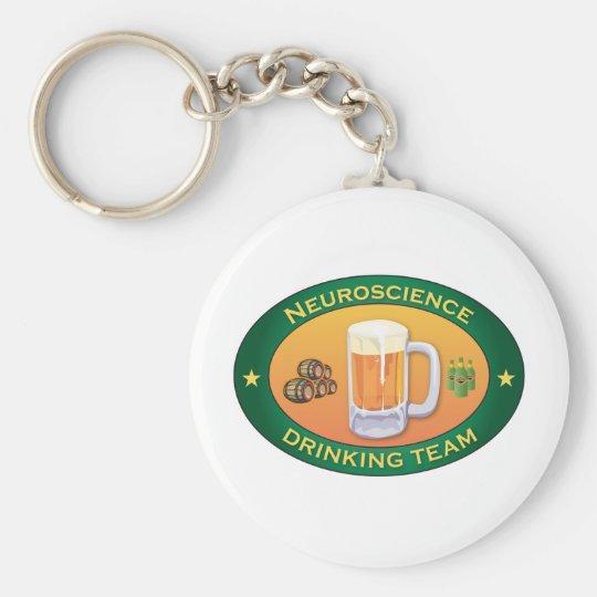 Neuroscience Drinking Team Keychain