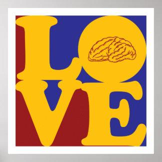 Neuroscience Love Poster