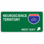 Neuroscience Next Exit Acrylic Cut Outs