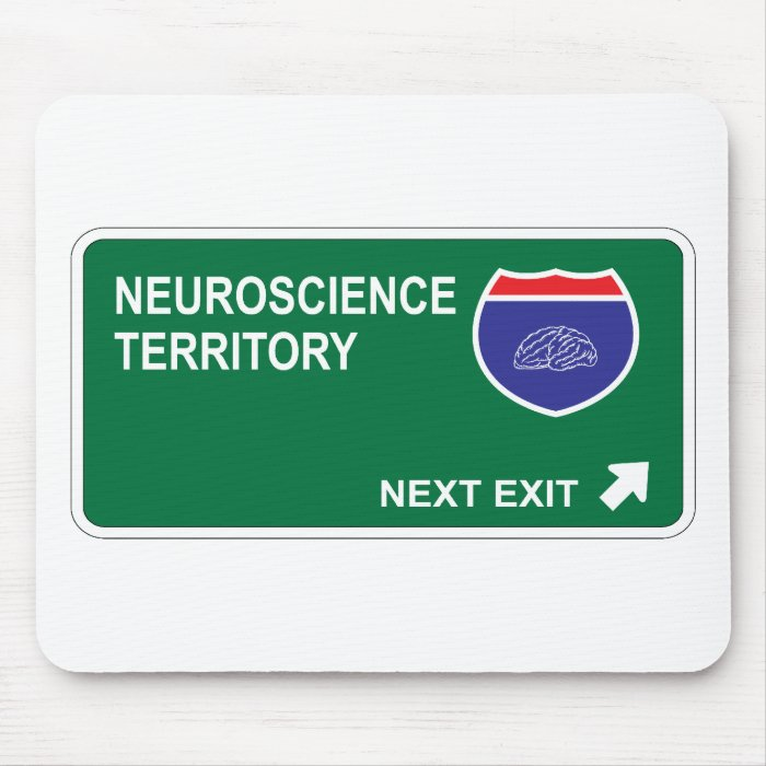 Neuroscience Next Exit Mouse Pad