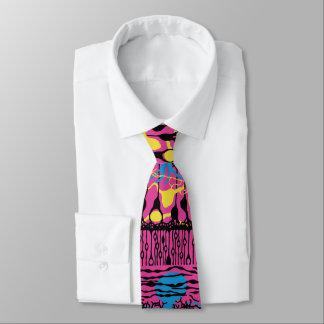 Neuroscience Retina Pink Tie