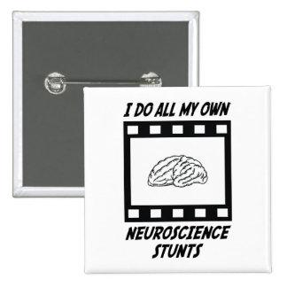 Neuroscience Stunts Pinback Button