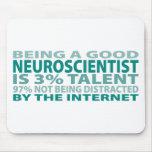 Neuroscientist 3% Talent Mouse Pad