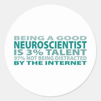Neuroscientist 3% Talent Stickers
