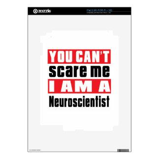 Neuroscientist scare designs decals for iPad 2