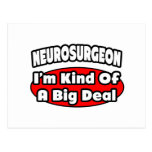 Neurosurgeon...Big Deal Postcard
