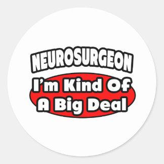 Neurosurgeon...Big Deal Sticker