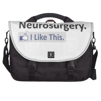 Neurosurgery ... I Like This Laptop Messenger Bag