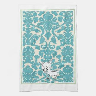 Neurotic Chihuahua Dish Towel