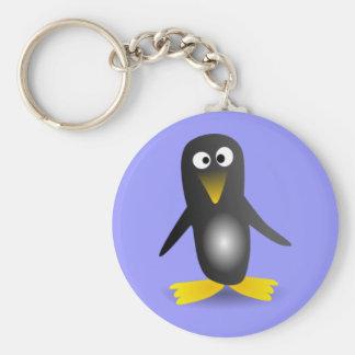 Neurotic Penguin Keychain