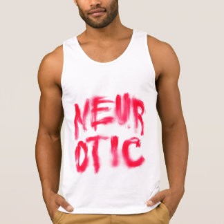 Neurotic (Red) Tank Top