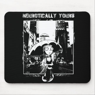 Neurotically Yours Comic Art Mousepad