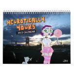 Neuróticamente el suyo calendario 2013
