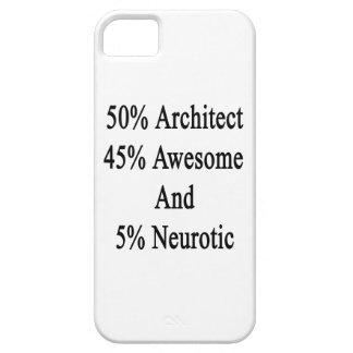 Neurótico 45 impresionante y 5 arquitecto de 50 funda para iPhone SE/5/5s