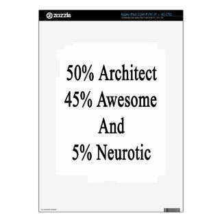 Neurótico 45 impresionante y 5 arquitecto de 50 pegatinas skins para iPad 3