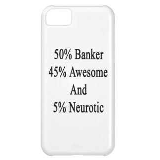 Neurótico 45 impresionante y 5 banquero de 50 carcasa para iPhone 5C