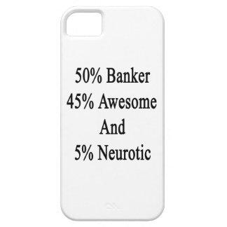 Neurótico 45 impresionante y 5 banquero de 50 funda para iPhone SE/5/5s
