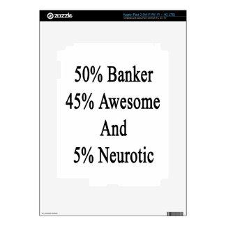 Neurótico 45 impresionante y 5 banquero de 50 iPad 3 skins