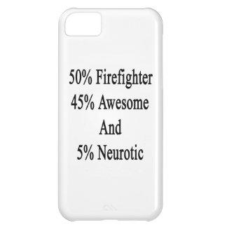 Neurótico 45 impresionante y 5 bombero de 50 funda iPhone 5C